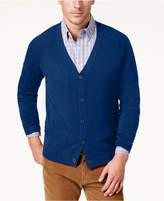 Weatherproof Vintage Men's Textured Cardigan, Classic Fit