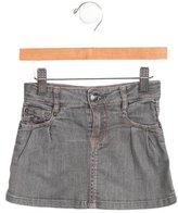 Little Marc Jacobs Girls' Denim Mini Skirt