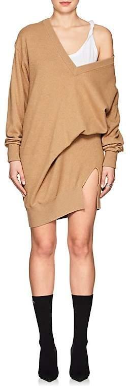 Alexander Wang Women's Gathered Wool-Blend Sweaterdress