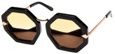Karen Walker Moon Disco Superstars Geometric Frame