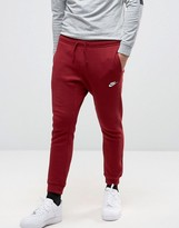 Nike Slim Joggers In Red 804408-677