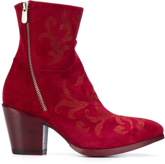 Rocco P. 80mm Pointed Toe Boots