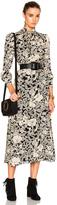 Saint Laurent 70s Floral Long Dress