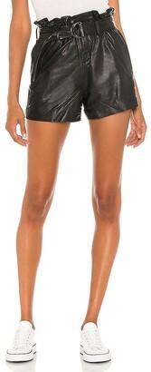 AllSaints Leather Erica Short