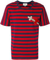 Gucci striped heart T-shirt - men - Cotton - S