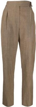 Brunello Cucinelli High-Rise Straight Leg Trousers