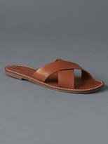 Gap Cross strap slides