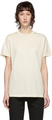 Helmut Lang Off-White Standard Monogram T-Shirt