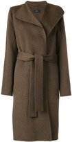 Joseph belted coat - women - Cotton/Cashmere/Wool - 34
