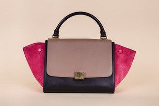 Celine Small Tri-Color Trapeze Bag