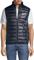 Emporio Armani Ea7 Down-Filled Quilted Vest