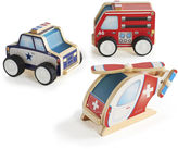 Guidecraft Jr. Plywood 3-pc. Community Vehicle Set