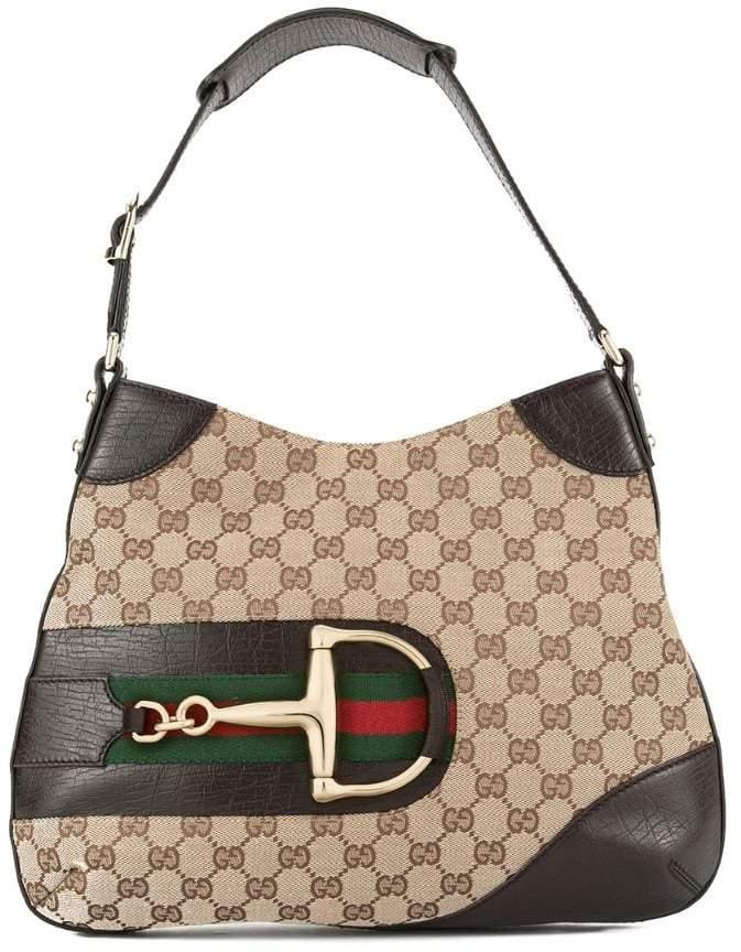 0b68813d3dea Gucci(グッチ) ブラウン レディース ショルダーバッグ - ShopStyle(ショップスタイル)