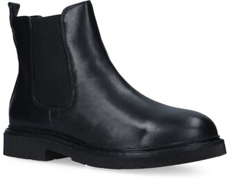 Carvela Leather Strategy Chelsea Boots