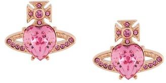 Vivienne Westwood embellished Orb earrings