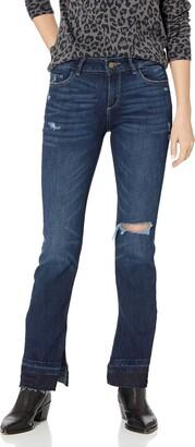 DL1961 Women's Bridget Mid Rise Bootcut Jeans