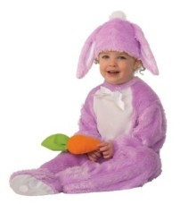 BuySeasons Baby Girls and Boys Lavender Bunny Deluxe Costume