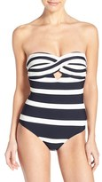 Ted Baker Women's 'Cirana' Textured Bandeau One-Piece Swimsuit