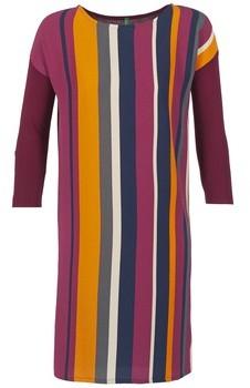 Benetton VAGODA women's Dress in Multicolour