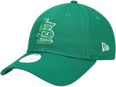 New Era Women's Green St. Louis Cardinals St. Patrick's Core Classic 9TWENTY Adjustable Hat