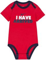 """Nike Baby Boy I Have Arrived"""" Graphic Bodysuit"""