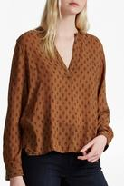 French Connection Stepped Hem Shirt