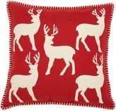 Kaleidoscope Deer Filled Christmas Cushion