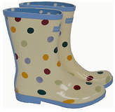 Emma Bridgewater Short Spot Wellies - Size 5