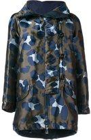 Moncler camouflage parka jacket - women - Polyamide/Polyester - M