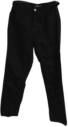 Cerruti Black Cotton Jeans