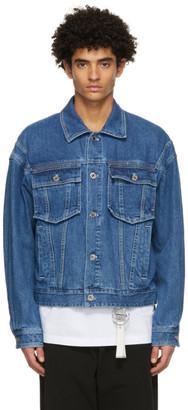 Wooyoungmi Blue Denim Trucker Jacket