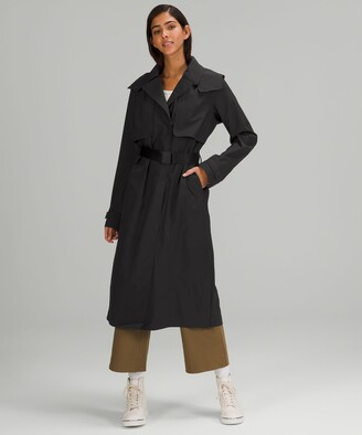 Lululemon Always There Trench Coat