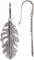 Melinda Maria Nina Mini Feather Drop Earrings