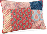 Jessica Simpson Grace Cotton Patchwork Printed Quilted Standard Sham Bedding
