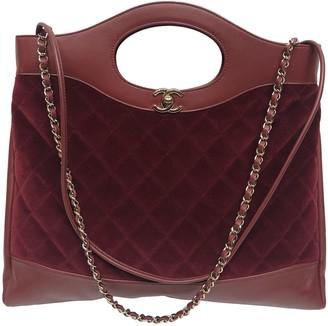 Chanel 31 Burgundy Velvet Handbags