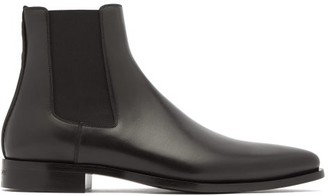 Givenchy Dallas Leather Chelsea Boots - Black