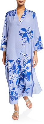 Etro Jasmine Bell-Sleeve Tunic Dress