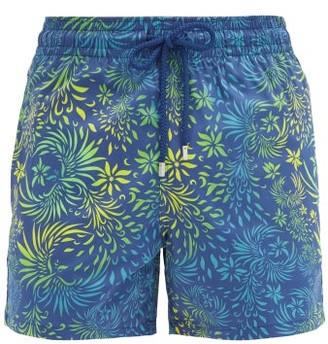 Vilebrequin Moorise Floral-print Swim Shorts - Blue Multi