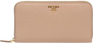 Prada Zipped Logo Wallet