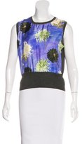 Paul Smith Wool Floral Print Top