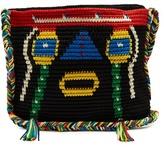 SENSI STUDIO X Chiara Totire Keira woven-straw cross-body bag