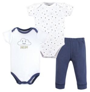 Hudson Baby Bodysuits and Pants Set, 3-Piece Set, 0-24 Months