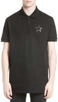 Givenchy Men's Columbia Fit Snakeskin Print Polo