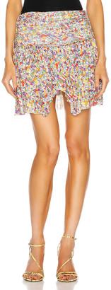 Isabel Marant Santa Skirt in Yellow | FWRD