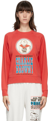 Marc Jacobs Red Peanuts Edition French Terry Sweatshirt