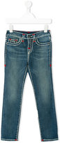 True Religion stitching contrast jeans - kids - Cotton/Spandex/Elastane - 2 yrs