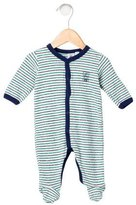 Petit Bateau Boys' Striped Long Sleeve All-In-One