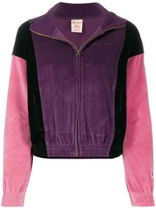 Champion colour-blocked track jacket