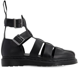 Dr. Martens Geraldo Brando Leather High Top Sandals