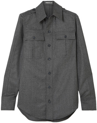 Stella McCartney Wool-flannel Shirt